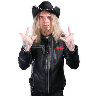 Cappello WORNSTAR - Hellrider HS Black Rocker Cowboy, WORNSTAR