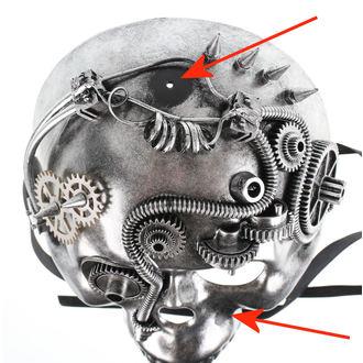 maschera ZOELIBAT - Steampunk-Halbmaske Skull - DANNEGGIATO, ZOELIBAT