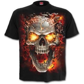 t-shirt uomo - SKULL BLAST - SPIRAL, SPIRAL