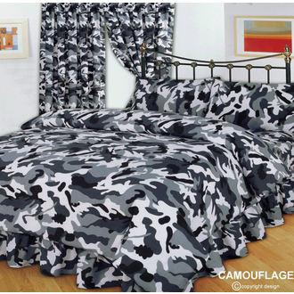 biancheria da letto  CAMOUFLAGE BLACK