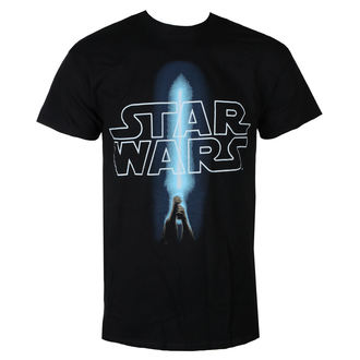 t-shirt film uomo Star Wars - LOGO & SABER - LIVE NATION, LIVE NATION