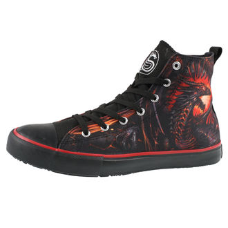scarpe da ginnastica alte uomo - DRAGON FURNACE - SPIRAL, SPIRAL