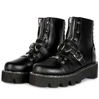 scarpe con cuneo donna - BUCKLE - DISTURBIA, DISTURBIA