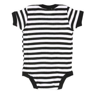 Baby body SLIPKNOT - LOGO B&W ONESIE - BRAVADO, BRAVADO, Slipknot
