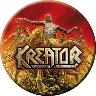 Distintivo KREATOR - Phantom antichrist - NUCLEAR BLAST, NUCLEAR BLAST, Kreator