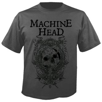 t-shirt metal uomo Machine Head - Clock GREY - NUCLEAR BLAST, NUCLEAR BLAST, Machine Head