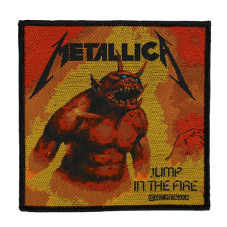 toppa METALLICA - JUMP IN THE FIRE - RAZAMATAZ, RAZAMATAZ, Metallica
