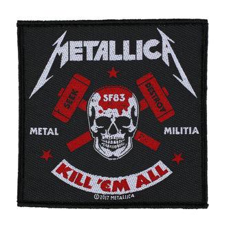 toppa METALLICA - METAL MILITIA - RAZAMATAZ, RAZAMATAZ, Metallica