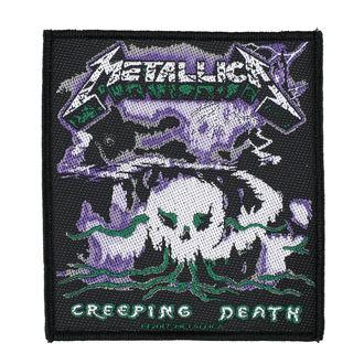toppa METALLICA - CREEPING DEATH - RAZAMATAZ, RAZAMATAZ, Metallica