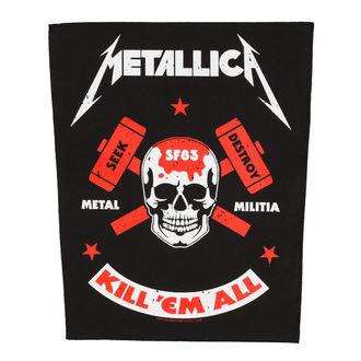 toppa grande METALLICA - METAL MILITIA - RAZAMATAZ, RAZAMATAZ, Metallica