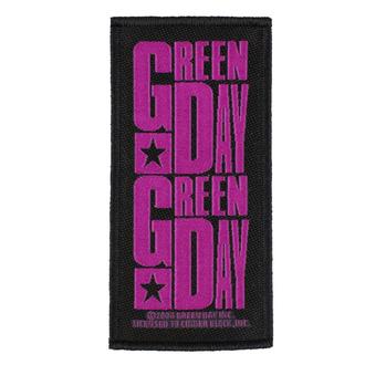 toppa GREEN DAY - PURPLE LOGO - RAZAMATAZ, RAZAMATAZ, Green Day