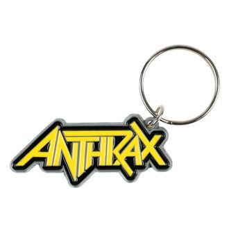 Portachiavi pendente ANTHRAX - LOGO - RAZAMATAZ, RAZAMATAZ, Anthrax
