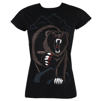 t-shirt hardcore donna - BEAR NECESSITIES - GRIMM DESIGNS, GRIMM DESIGNS
