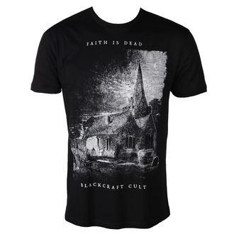 t-shirt uomo - Faith is Dead - BLACK CRAFT, BLACK CRAFT