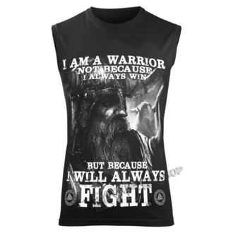 top Uomo VICTORY OR VALHALLA - I AM A WARRIOR, VICTORY OR VALHALLA