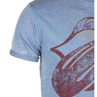t-shirt metal uomo Rolling Stones - Mid Blue - ROCK OFF, ROCK OFF, Rolling Stones