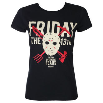 t-shirt film donna Friday 13th - DAY OF FEAR - PLASTIC HEAD, PLASTIC HEAD