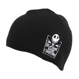 Beanie THE NIGHTMARE BEFORE CHRISTMAS - LOGO - PLASTIC HEAD, PLASTIC HEAD
