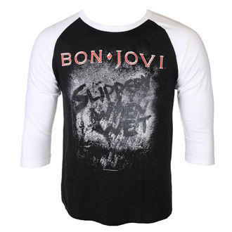t-shirt metal uomo Bon Jovi - SLIPPERY WHEN WET - PLASTIC HEAD, PLASTIC HEAD, Bon Jovi