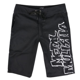 Pantaloncini da bagno METAL MULISHA - SQUAD - BLK, METAL MULISHA