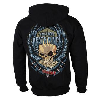 felpa con capuccio uomo Five Finger Death Punch - Trouble - ROCK OFF, ROCK OFF, Five Finger Death Punch