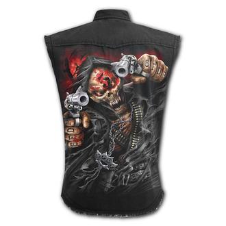 camicia uomo senza maniche SPIRAL - Five Finger Death Punch - ASSASSINO, SPIRAL, Five Finger Death Punch