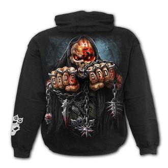felpa con capuccio uomo Five Finger Death Punch - Five Finger Death Punch - SPIRAL, SPIRAL, Five Finger Death Punch