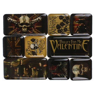 Magnete (set) Bullet For My Valentine, NNM, Bullet For my Valentine