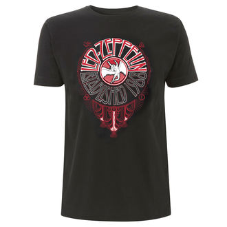 t-shirt metal uomo Led Zeppelin - Deco Circle - NNM, NNM, Led Zeppelin