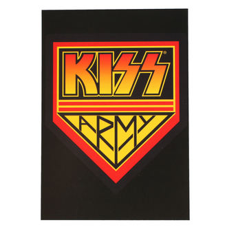 Cartolina KISS - ARMY LOGO - ROCK OFF, ROCK OFF, Kiss