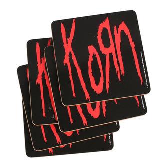 Sottobicchieri KORN - ROCK OFF, ROCK OFF, Korn