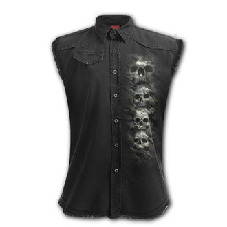 Camicia / gilet SPIRAL - CAMO-SKULL