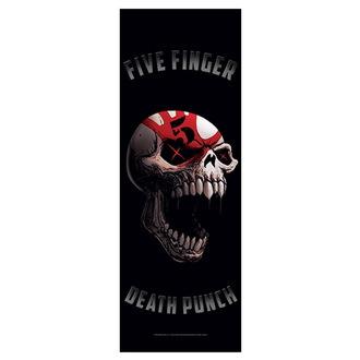 Bandiera Five Finger Death Punch - Speech Skull, HEART ROCK, Five Finger Death Punch
