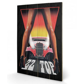 Pittura in legno ZZ Superiore - (&&string0&&) - PYRAMID POSTERS, PYRAMID POSTERS, ZZ-Top
