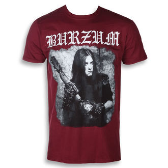 t-shirt metal uomo Burzum - ANTHOLOGY 2018 (MAROON) - PLASTIC HEAD, PLASTIC HEAD, Burzum