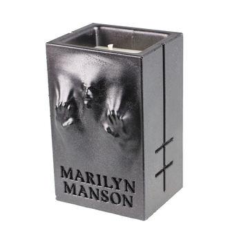 Candela MARILYN MANSON - BLACK METALLIC - PLASTIC HEAD, PLASTIC HEAD, Marilyn Manson