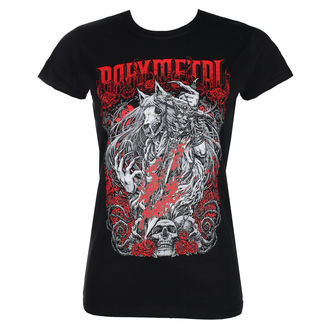 t-shirt metal donna Babymetal - ROSEWOLF - PLASTIC HEAD, PLASTIC HEAD, Babymetal