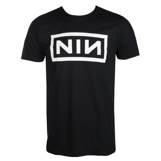t-shirt metal uomo Nine Inch Nails - CLASSIC WHITE LOGO - PLASTIC HEAD, PLASTIC HEAD, Nine Inch Nails