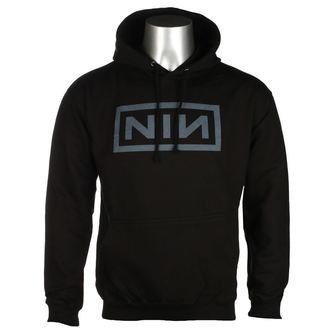 felpa con capuccio uomo Nine Inch Nails - CLASSIC GREY LOGO - PLASTIC HEAD, PLASTIC HEAD, Nine Inch Nails