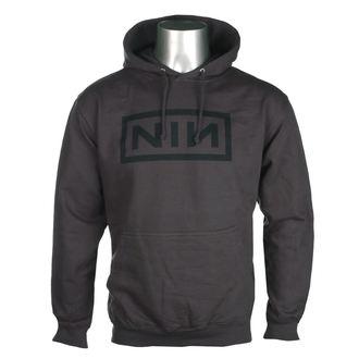 felpa con capuccio uomo Nine Inch Nails - CLASSIC BLACK LOGO - PLASTIC HEAD, PLASTIC HEAD, Nine Inch Nails