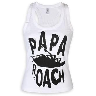 Canotta Papa Roach - Classic Logo - bianca - KINGS ROAD, KINGS ROAD, Papa Roach