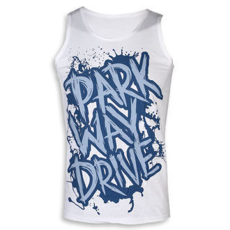 Canotta Parkway Drive - Blue Logo - bianca - KINGS ROAD, KINGS ROAD, Parkway Drive