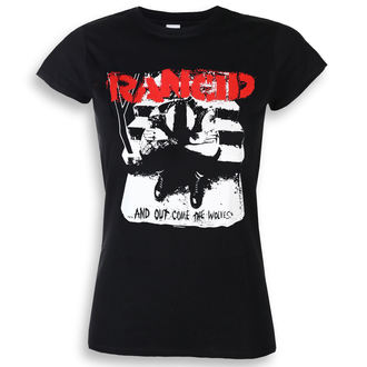 t-shirt metal donna Rancid - And Out Come The Wolves - KINGS ROAD, KINGS ROAD, Rancid