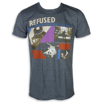 t-shirt metal uomo Refused - The Shape Of Punk - KINGS ROAD, KINGS ROAD, Refused