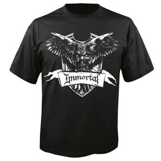 t-shirt metal uomo Immortal - Crest - NUCLEAR BLAST, NUCLEAR BLAST, Immortal