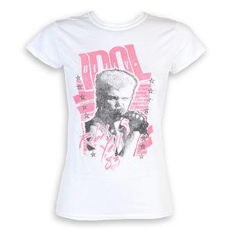 t-shirt metal donna Billy Idol - Rebel Yell - ROCK OFF, ROCK OFF, Billy Idol