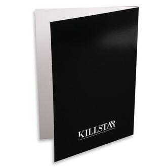 Cartolina d'auguri KILLSTAR - Libra - NERO, KILLSTAR