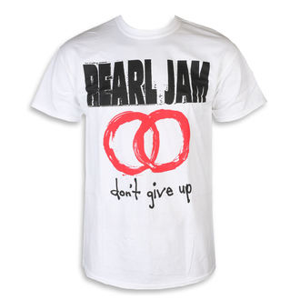 t-shirt metal uomo Pearl Jam - Don't Give Up White - NNM, NNM, Pearl Jam