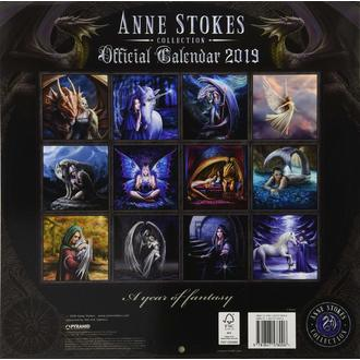 Calendario per anno 2019 ANNE STOKES, ANNE STOKES
