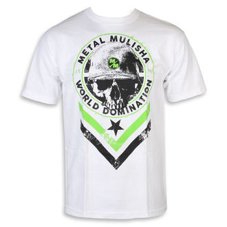 t-shirt street uomo - SEAL WHT - METAL MULISHA, METAL MULISHA